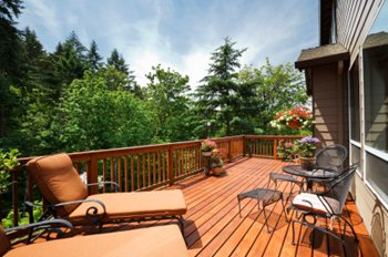 Coatings and finishes for deck