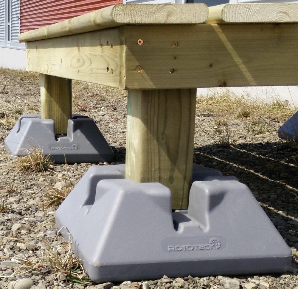 Dek Block Patio And Terrace Bases Virtual Constructor