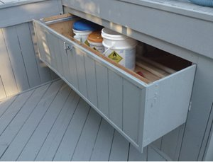 Deck compartment
